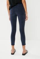 Cotton On - Mid rise grazer skinny jean - navy