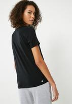 Cotton On - Slogan T-shirt - black