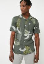 Only & Sons - Resort short sleeve shirt - green