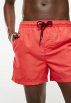 Jack & Jones - Sunset swim shorts - coral