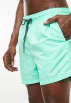Jack & Jones - Sunset swim shorts - mint