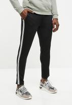 Jack & Jones - Dean sweat pants - black & white