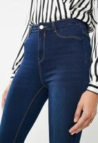 Missguided - Lawless high waisted jean
