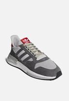 adidas Originals - ZX 500 RM - Grey / White / Scarlet