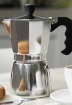 La Cafetiere - 6 cup classic espresso moka pot - polished