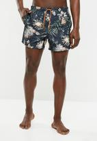 Only & Sons - Laust swim shorts - navy