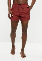 Only & Sons - Tino swimshorts - maroon