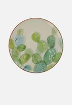 Drift - Snack plate set of 4 - cactus