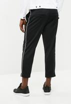 Only & Sons - William wide leg track pants - black