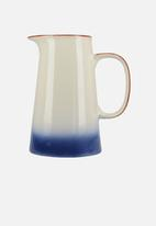 Drift - Large jug - blue ombre