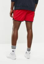 Only & Sons - Rudi sweat shorts - red