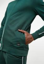 Only & Sons - William track top - green