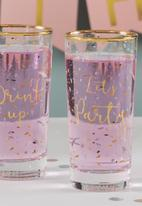 Ava & I - Party high ball tumblers set of 2