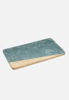 Kitchen Craft - Artesà marble and wood two tone board