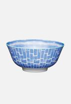 Kitchen Craft - Blue watercolour snack bowl