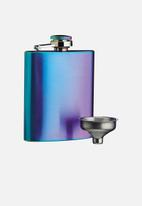 Kitchen Craft - Radiance hip flask - iridescent