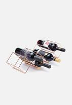 Kitchen Craft - Stackable wine rack - copper finish