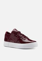 Reebok Classic - Workout Lo - rustic wine/white