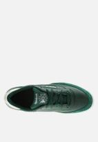 Reebok Classic - Club C - dark green/chalk