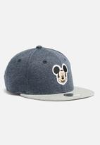 New Era - Kids Mickey mouse snapback cap - blue & grey
