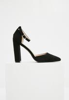 Superbalist - Jackie block heel - black