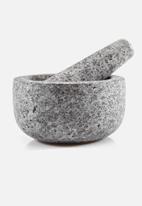 Humble & Mash - Granite pestle & mortar - grey