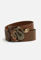 Vero Moda - Patina belt - brown