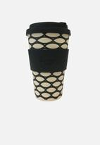 Ecoffee Cup - Basketcase Ecoffee cup - 400ml - multi