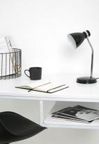 Present Time - Study table lamp - black