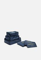 Escape Society - Packing cube set of 3 - navy
