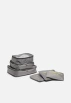 Escape Society - Packing cube set of 3 - grey