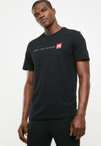 The North Face - M S/S never stop exploring tee - Black