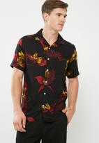 Only & Sons - Resort short sleeve shirt - black