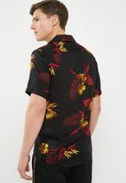 Only & Sons - Resort short sleeve shirt - black