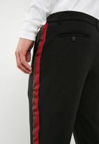 Only & Sons - onsSolid stripe chino - black