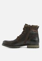 Jack & Jones - Marly leather - brown