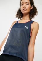 adidas Originals - AI OG tank - blue & coral