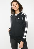 adidas Originals - SST track jacket - black & white