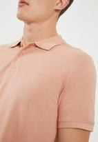 Jack & Jones - Basic polo - dusty pink