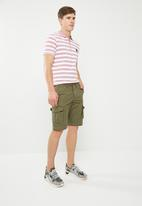 Jack & Jones - Preston cargo shorts - olive