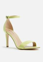 Call It Spring - Ahlberg stiletto heel - lime