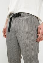 Jack & Jones - Cody elastic pants - black & Grey