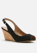 Call It Spring - Adrilavia wedge heel - black