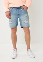 Jack & Jones - Rick shorts denim - blue