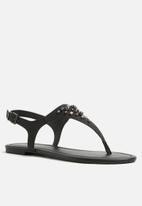 Call It Spring - Dwiwien sandal - black