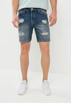Jack & Jones - Rick denim shorts - blue