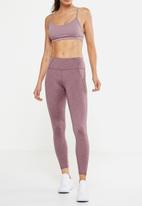 Cotton On - Fleece lined tight - mauve