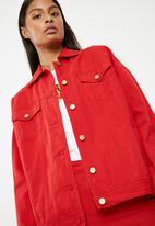 Superbalist - Tia jacket - red