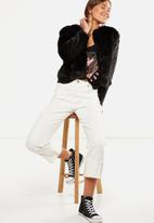Cotton On - Boyfriend baggy jean - white