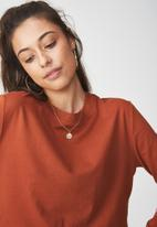 Cotton On - The urban long sleeve top - tan